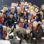 PSG champion d'Europe 1996 (C2) (Photo : D.R.)