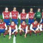 PSG - 1996/1997 (photo : Christian Gavelle - PSG)