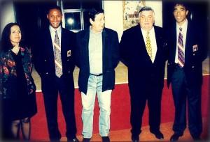 Fête chez Louis Nicollin au Mas St Gabriel - sept. 1999