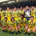 L'équipe de Nantes, championne de France 1994/1995 (Photo : D.R.)